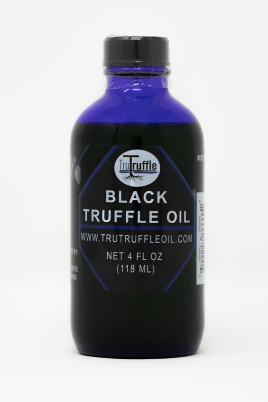 Tru Truffle Oil Black Label With Background Image